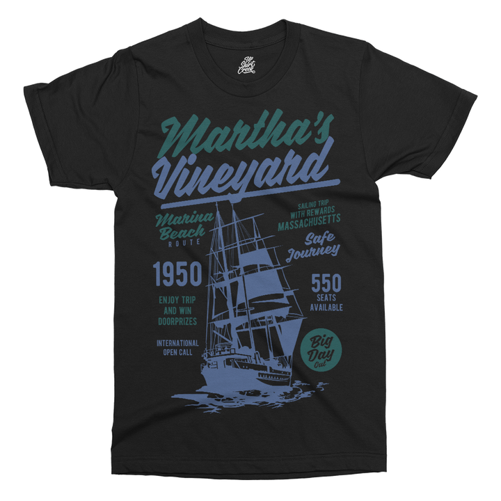 Martha's Vineyard Printed T-Shirt - UpShirtCreek