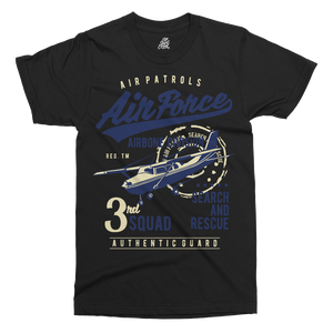 Air Force Printed T-Shirt - UpShirtCreek