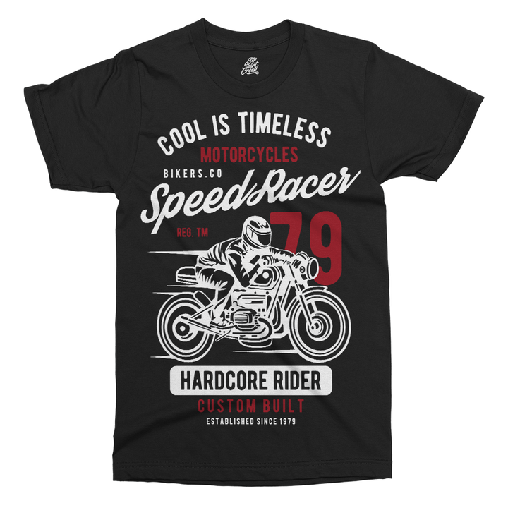 Speed Racer Printed T-Shirt - UpShirtCreek