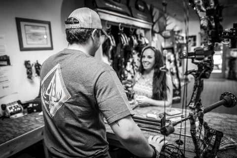 Straight6 Archery Owner Casey Smith at The Missoula Storefront