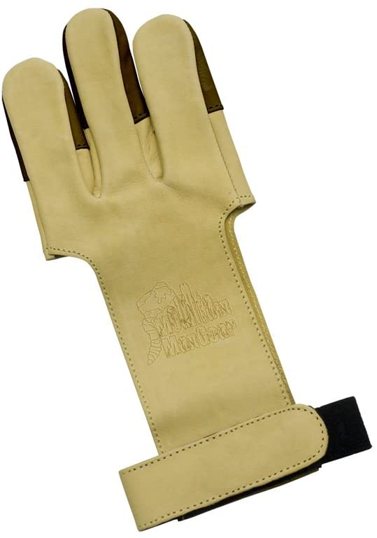 Mountain Man Leather Shooting Glove