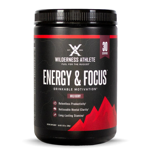 Wilderness Athlete Energy and Focus Tub
