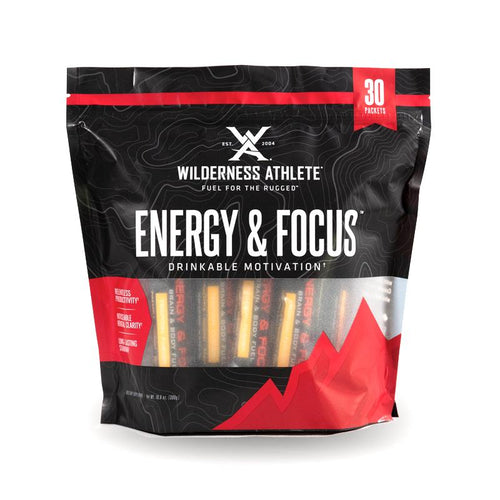 Wilderness Athlete Energy and Focus Packets