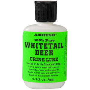 Moccasin Joe Ambush Whitetail Deer Urine