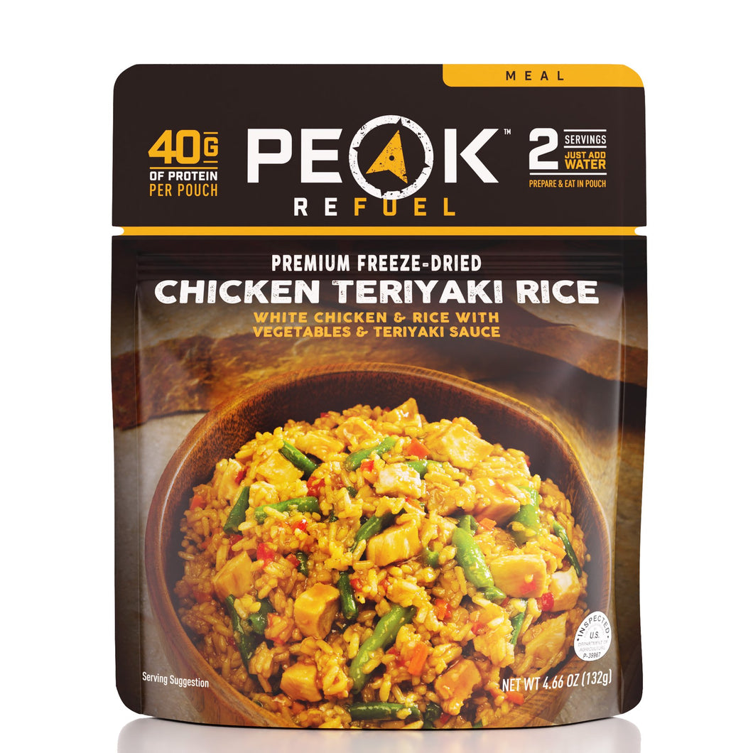 Peak Refuel Chicken Teriyaki Rice