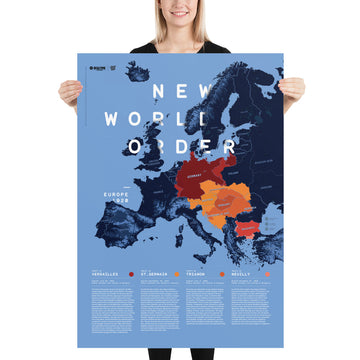 New World Order Europe 1920 - Poster