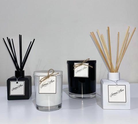 Luminous Flame hand poured scented soy candles