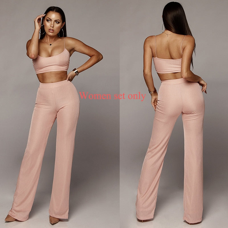 Women Two Piece Set Top And Pant Set