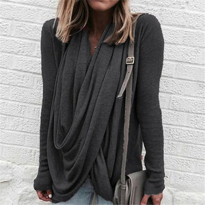 Open image in slideshow, Fall Casual Blouse Top