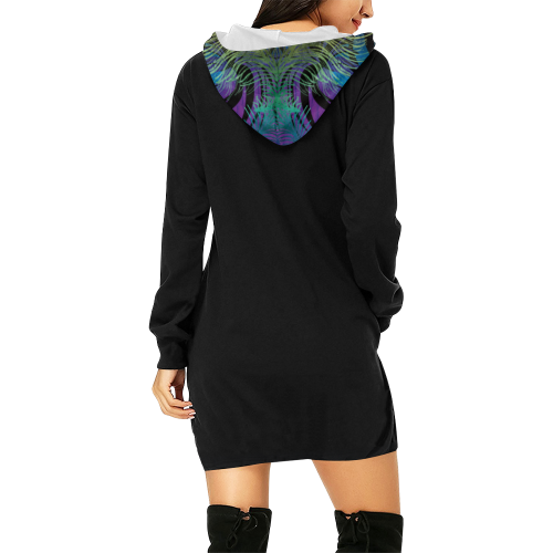 Cajun Vibe Hoodie Mini Dress