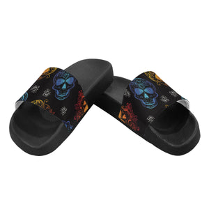 Mulit Sugar Skulls Women's Slide Sandals (Model 057)