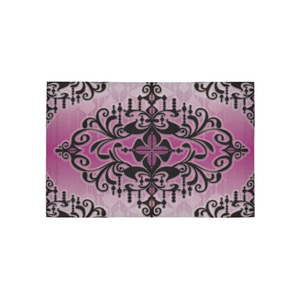 Chandelier Scroll Area Rug 5'x3'3''