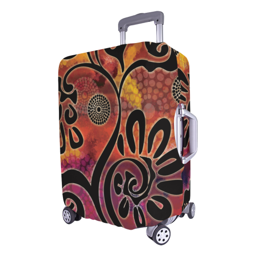 Exotic Vines Luggage Cover