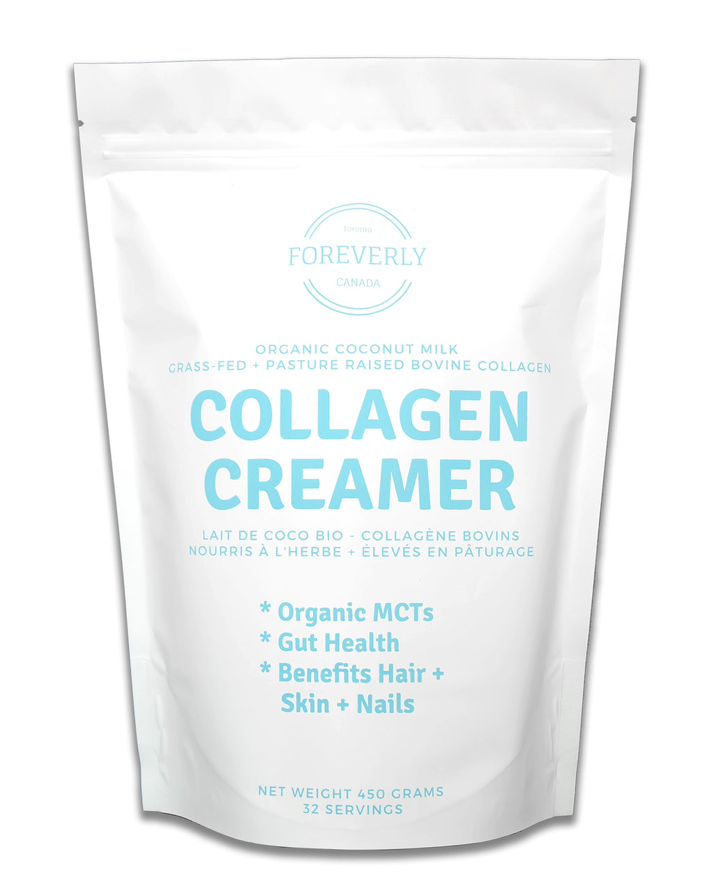 Collagen Creamer (Dairy Free) - 450 grams