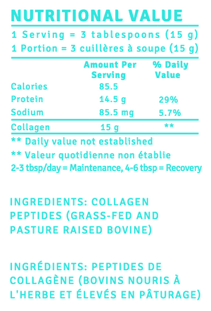 Collagen Peptides - 450 grams