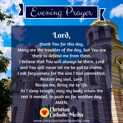 Evening Prayer Catholic Thursday 12-5-2019