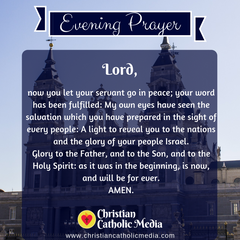Evening Prayer Catholic Monday 2-10-2020