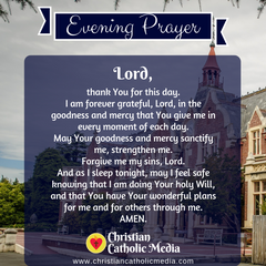 Evening Prayer Catholic Tuesday 2-11-2020