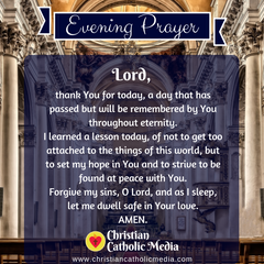 Evening Prayer Catholic Saturday 2-15-2020