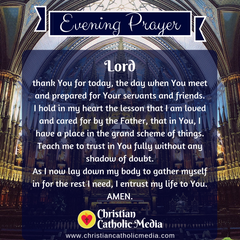 Evening Prayer Catholic Sunday 1-19-2020