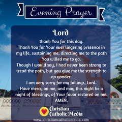 Evening Prayer Catholic Monday 1-20-2020