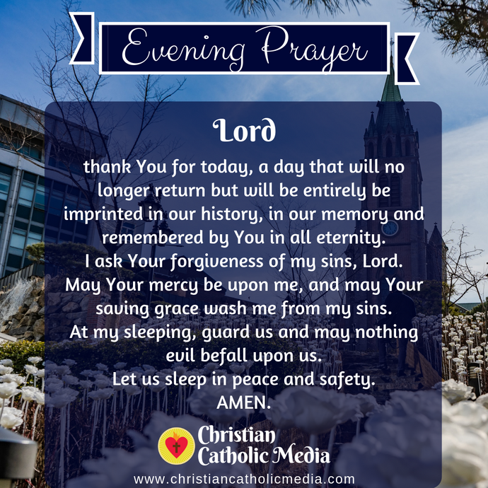 Evening Prayer Catholic Sunday 3-15-2020