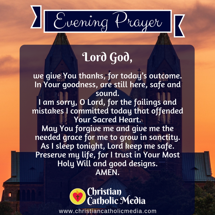 Evening Prayer Catholic Monday 3-23-2020