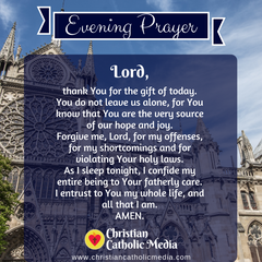 Evening Prayer Catholic Tuesday 5-26-2020