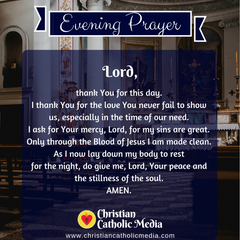 Evening Prayer Catholic Wednesday May 5, 2021