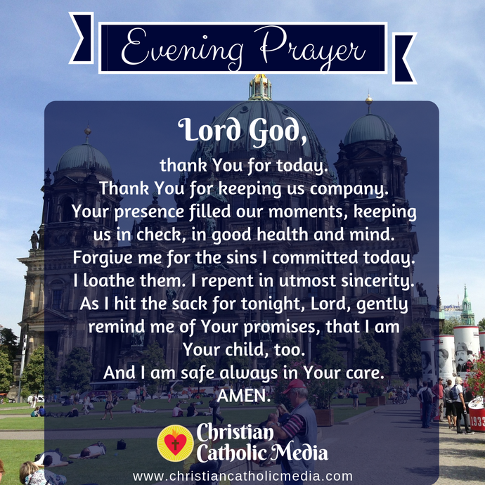 Evening Prayer Catholic Saturday 9-26-2020