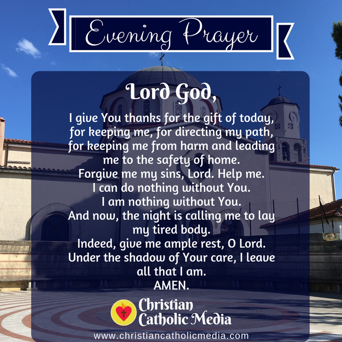 Evening Prayer Catholic Sunday 9-27-2020