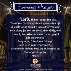 Evening Prayer Catholic Friday May 7, 2021