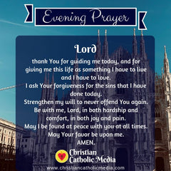 Evening Prayer Catholic Friday 10-18-2019