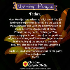 Morning Prayer Catholic Wednesday 10-16-2019