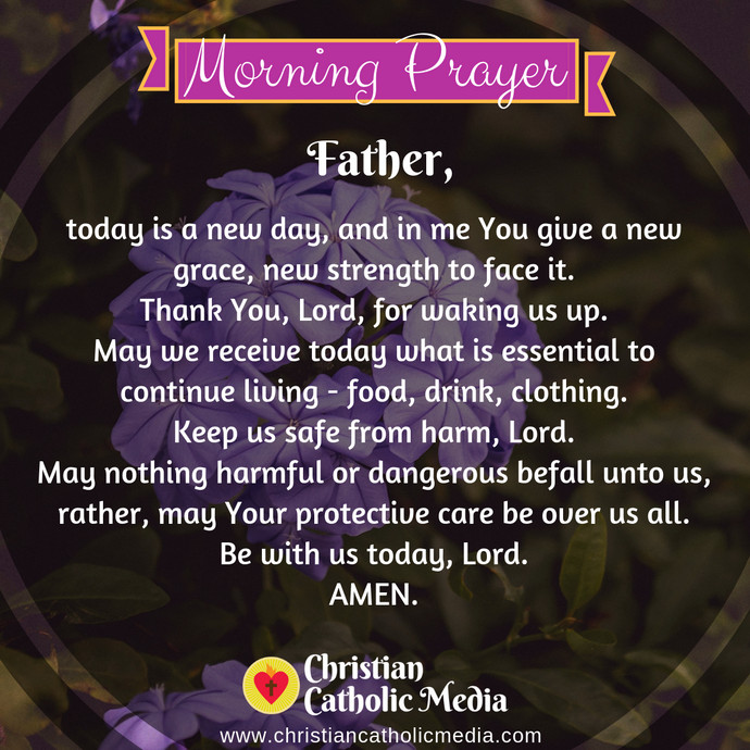 Catholic Morning Prayer Tuesday 8-11-2020