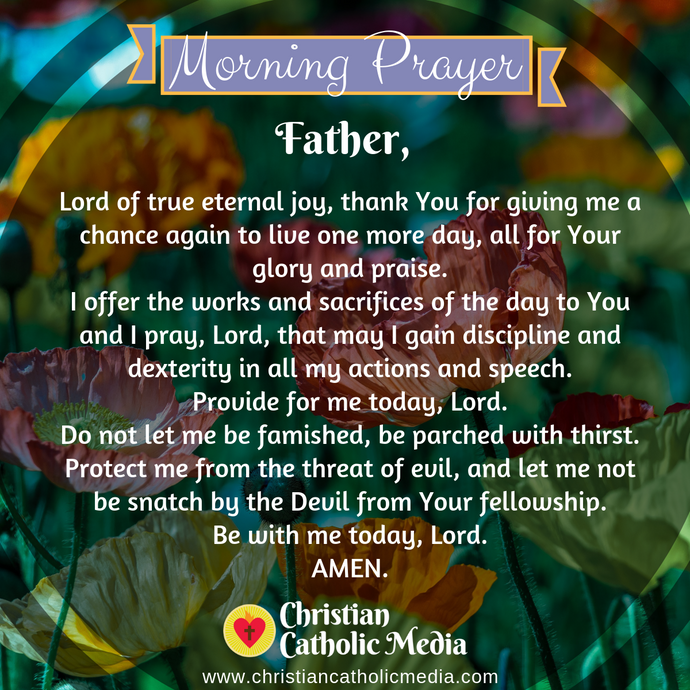Catholic Morning Prayer Thursday 8-13-2020