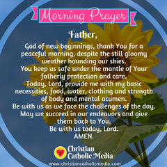 Morning Prayer Catholic Thursday 8-1-2019