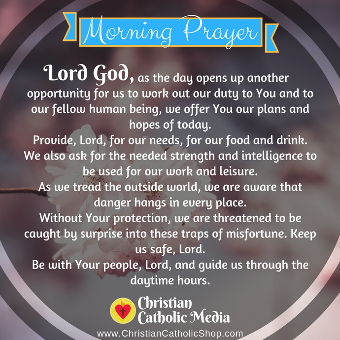Catholic Morning Prayer Thursday 8-6-2020