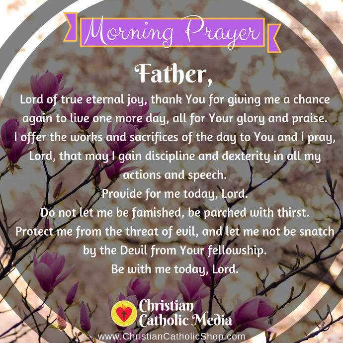 Catholic Morning Prayer Friday 8-7-2020