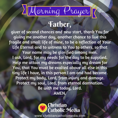 Morning Prayer Catholic Friday 12-13-2019
