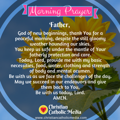 Morning Prayer Catholic Thursday 12-5-2019