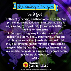 Morning Prayer Catholic Friday 12-6-2019