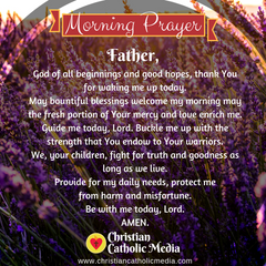 Morning Prayer Catholic Wednesday 2-12-2020