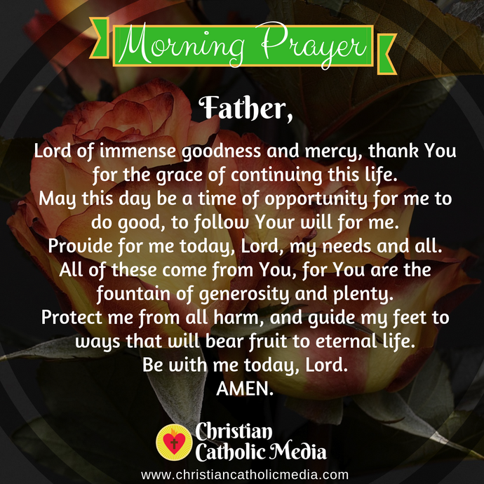 Catholic Morning Prayer Monday 1-18-2021