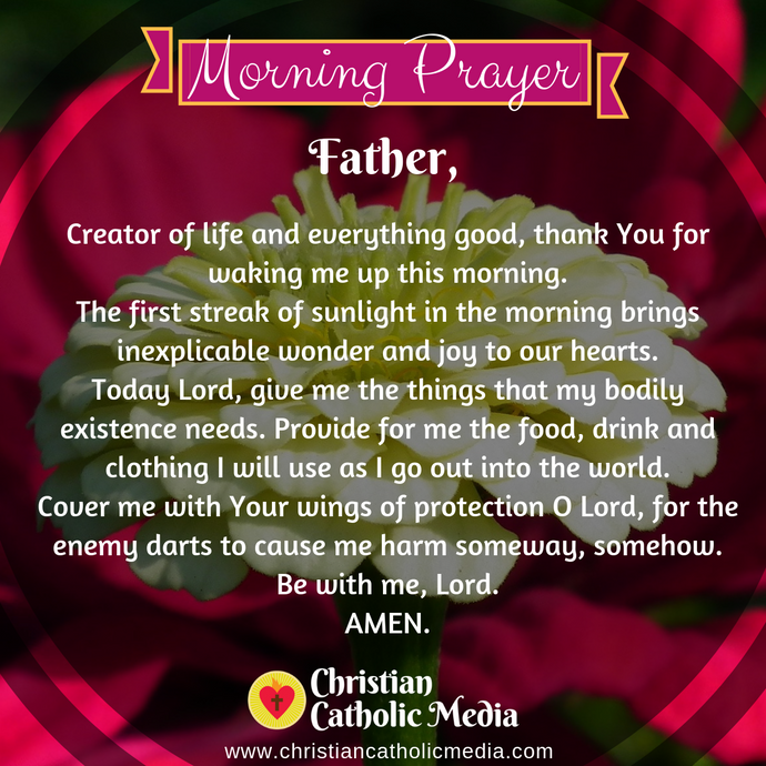 Catholic Morning Prayer Wednesday 1-27-2021