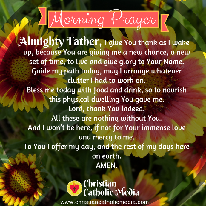Catholic Morning Prayer Thursday 1-7-2021