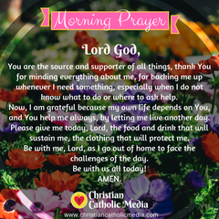 Morning Prayer Catholic Saturday 3-21-2020