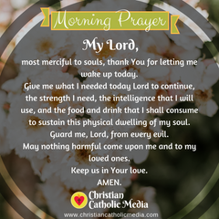 Morning Prayer Catholic Monday 3-23-2020