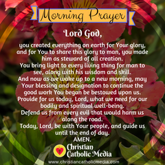 Morning Prayer Catholic Friday 3-27-2020