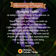 Catholic Morning Prayer Friday May 7, 2021